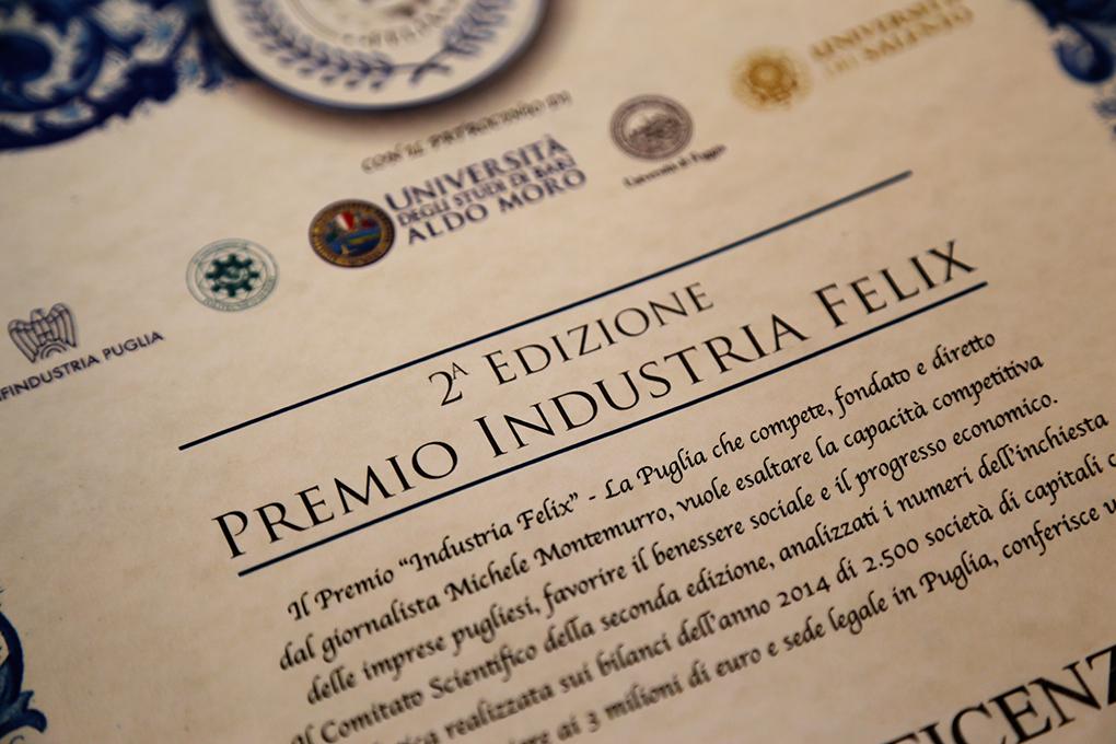 Premio Industria Felix 2016